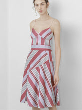 Load image into Gallery viewer, Stripe Pattern Dress