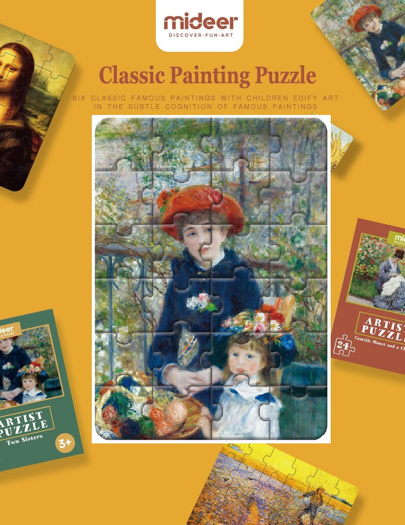 TWO SISTERS | World Famous Classic Painting Puzzle