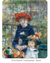 Load image into Gallery viewer, TWO SISTERS | World Famous Classic Painting Puzzle