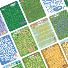 Load image into Gallery viewer, Wipe&Clean Learning Cards - Amazing Mazes