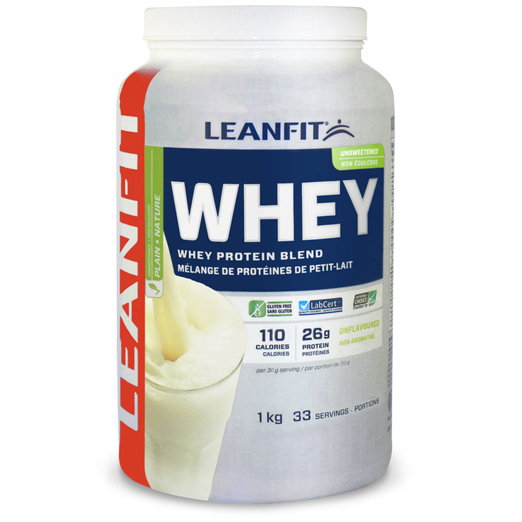 LEANFIT® Whey Protein Plain, Unsweetened 1 kg