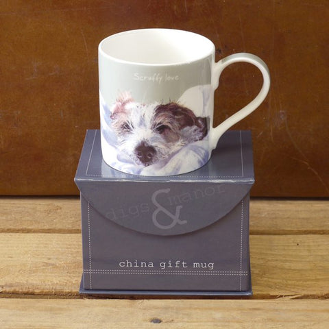 Mug picturing wire hair Jack Russell