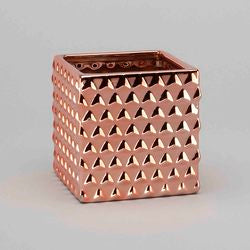 Copper Cube Planter