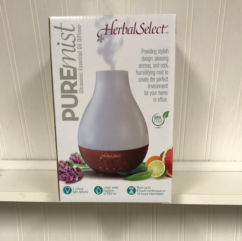 Herbal Select, Ultrasonic Essential Oil Diffuser