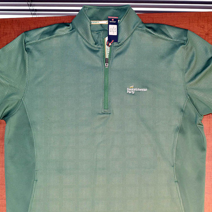 Saskatchewan Party Long-sleeve Green Pullover