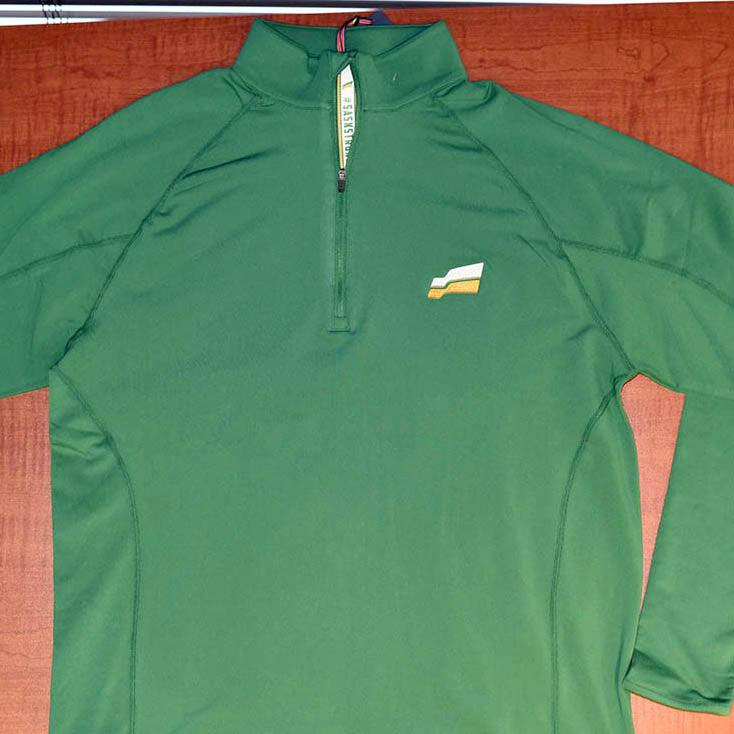 SaskParty Flag Long-sleeve Green Pullover