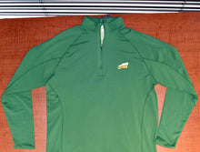 Load image into Gallery viewer, SaskParty Flag Long-sleeve Green Pullover