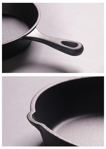 Cast Iron Frying Pan Non-stick Skillet - health and eat