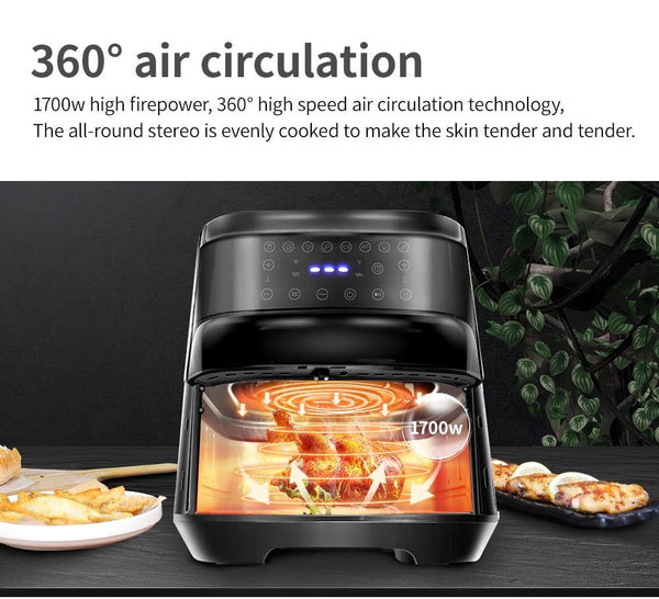 Air Frying Digital Touchscreen - health and eat