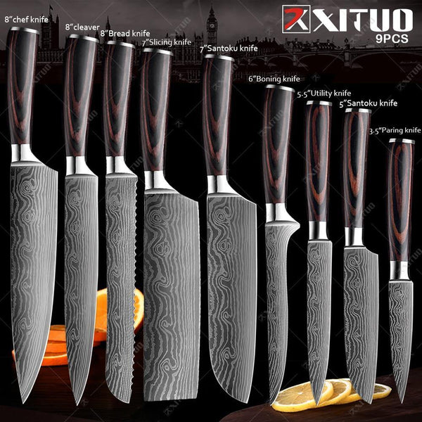 Japanese Kitchen Knife XITUO - health and eat