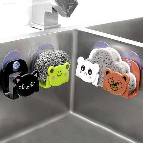Cute Cartoon Kitchen Suction Cup Sink