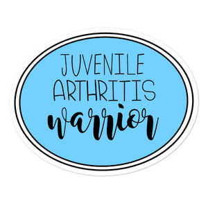 Juvenile Arthritis Warrior Awareness Sticker