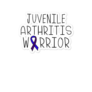 Juvenile Arthritis Warrior, Awareness Ribbon Sticker