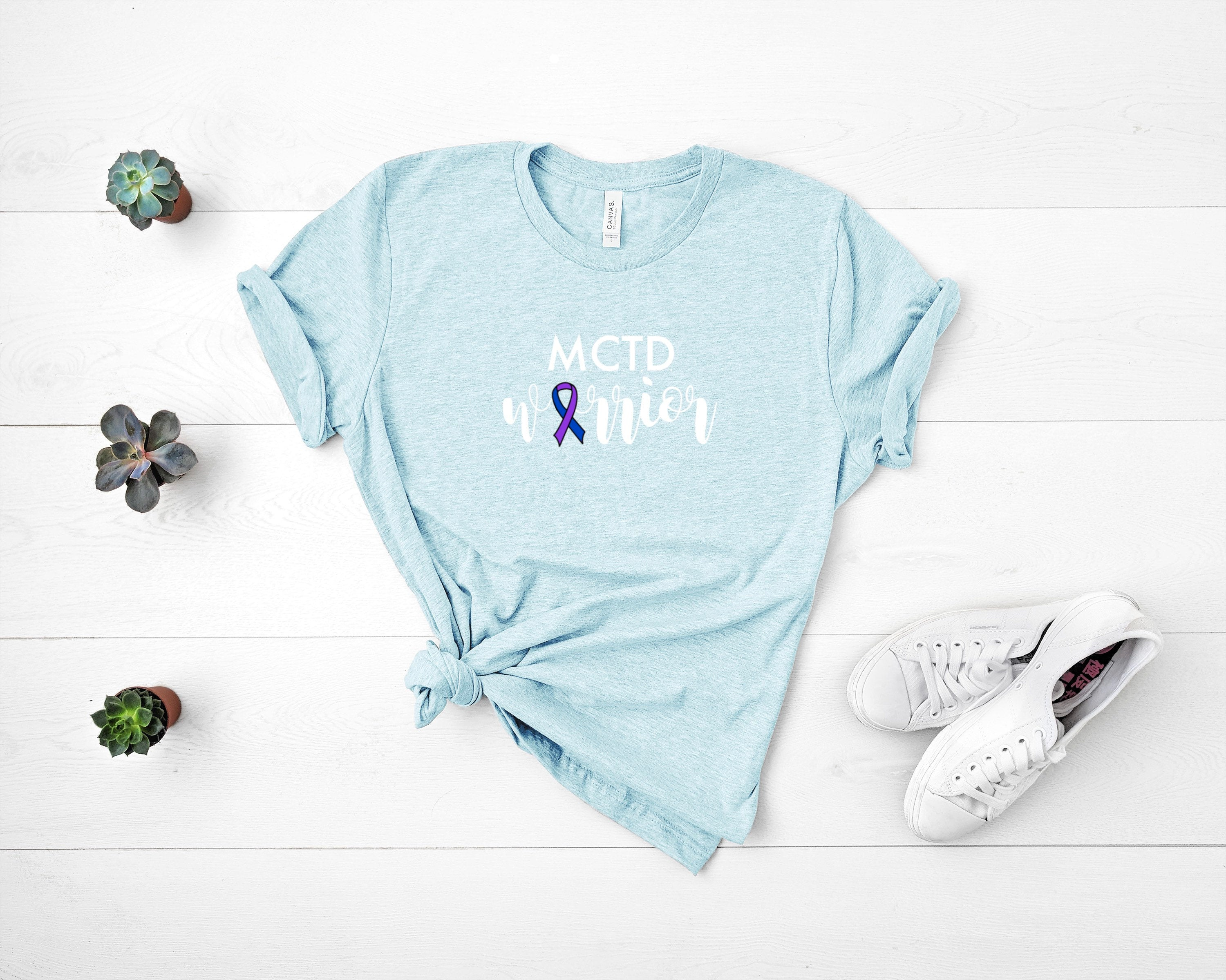 MCTD Warrior T-Shirt, mixed connective tissue disease