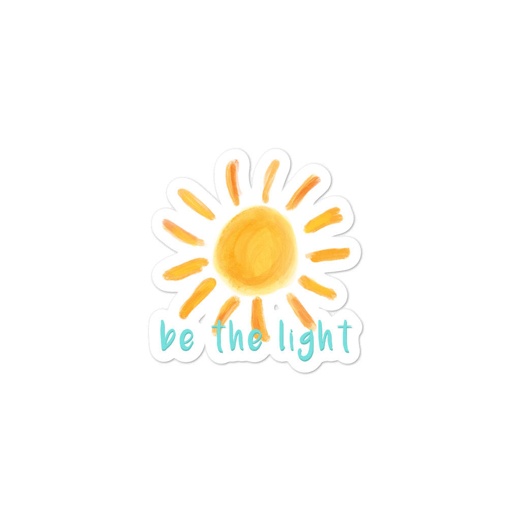 Be the light, Sunshine Sticker