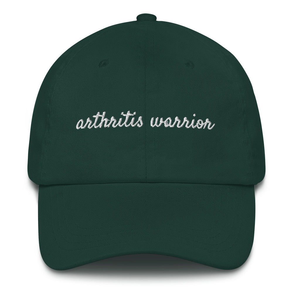 Arthritis Warrior Embroidered Baseball Hat