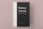Load image into Gallery viewer, Medical Journal, Geometric Cover