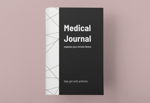 Medical Journal, Geometric Cover