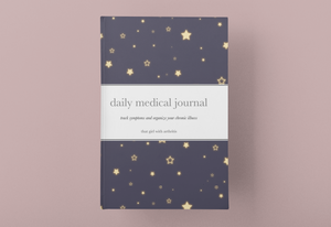 Daily Medical Journal, Star Cover, 6 month tracker