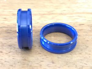 Blue Ceramic Ring Core - Inlay
