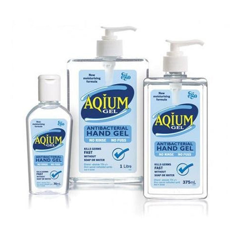 Aqium Hand Sanitiser 60ml - each EGO