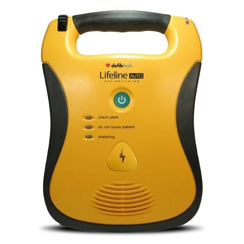 Defibtech Lifeline Fully Automatic AED with 7 Year Battery DEFIBTECH