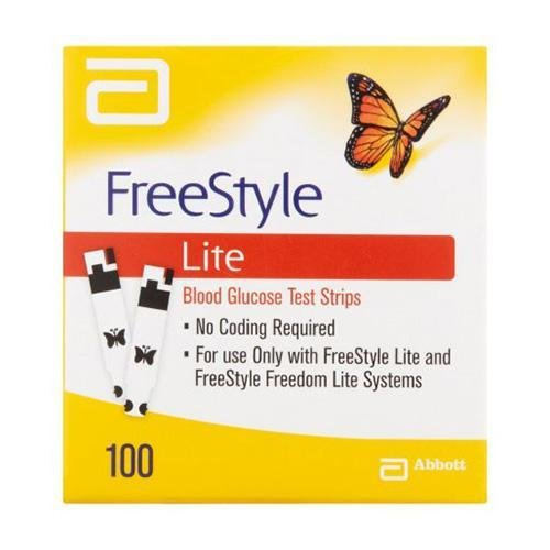 Freestyle Glucose Strips Lite - Box (100) ABBOTT