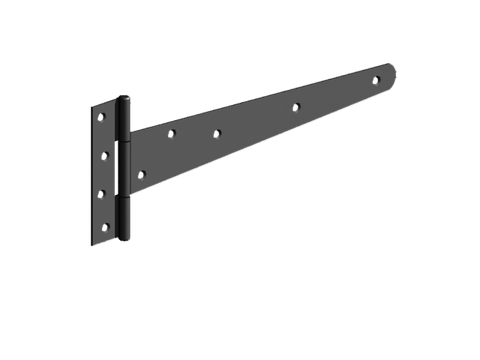 Gatemate 450mm (18″) T Hinge Pair Black