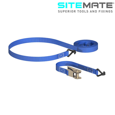 Sitemate Ratchet Tie Down with Chassis Hooks