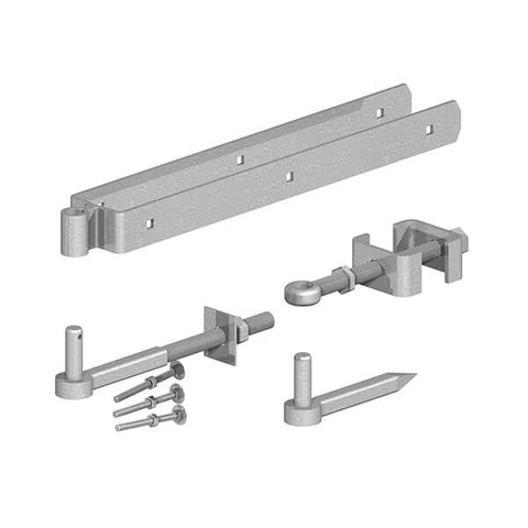 GATEMATE Field Gate Adjustable Double Strap Hinge Set 450mm