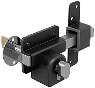 Gatemate Long Throw Gate Lock Euro Profile Single Locking