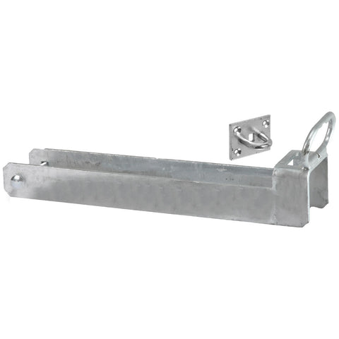 Lockable Throw Over Gate Loop with Lifting Handle Galvanised