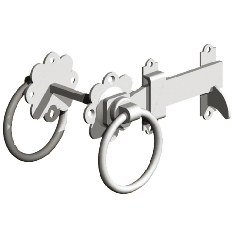"GATEMATE Ring Gate Latch 6"" (150mm) Galvanised"
