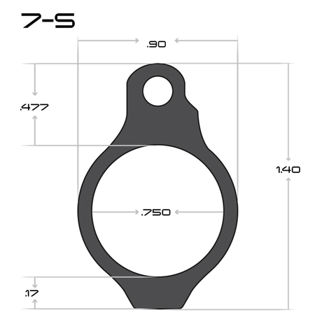 Sentry 7 Gas Block Dimensions