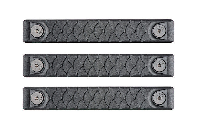 RailScales HTP M-LOK Scales - 3 Pack / Dragon / Black