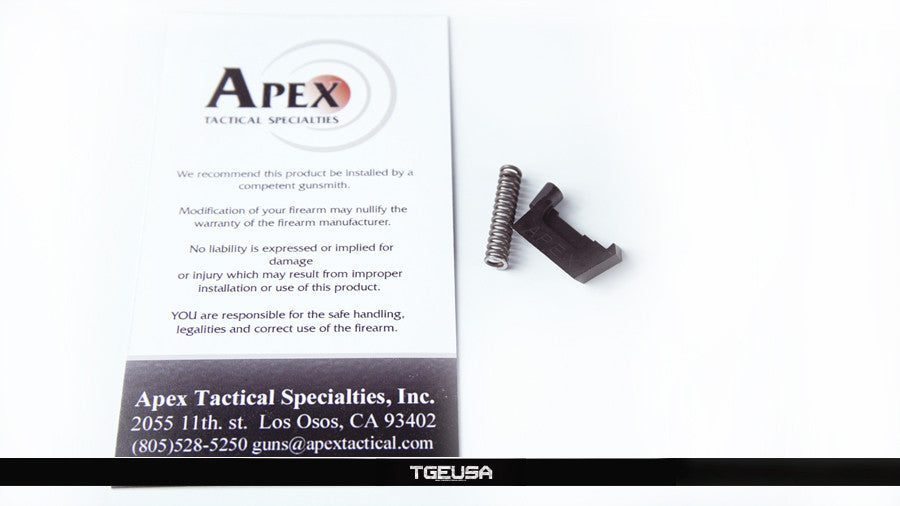 Apex Tactical Failure Resistant Extractor - Glock Gen 4 (9mm)