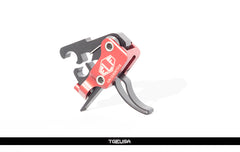 Elftmann AR-9 Trigger - Adjustable / Curved ( AR-9 / AR-45 / Sig MPX)