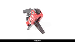 Elftmann AR-9 Trigger - Adjustable / Straight (AR-9 / AR-45 / Sig MPX)