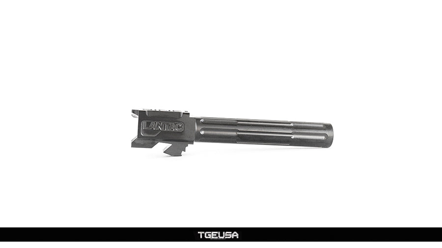 Lantac 9INE G17 Glock Barrel - 9MM / Black