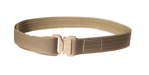 "HSGI Cobra 1.5"" Rigger Belt With Velcro - Large 36""-38"" (Coyote Brown)"