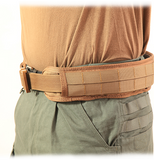 "HSGI Slim Grip Padded Belt - Large  41.5"" (Coyote Brown)"