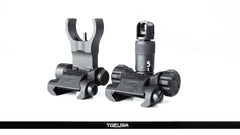 LMT - 5.56 BUIS Kit - Front and Rear Flip Up Sights