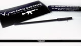 V SEVEN Lightweight Port Door Rod (AR15) - Enlarged End