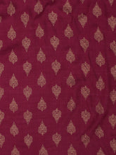 Load image into Gallery viewer, Women Burgundy Solid Kurta with Palazzos & Dupatta