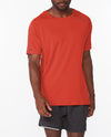 Aero Tee - Rust/Black Reflective