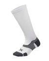 Vectr Cushion Full Length Sock - White/Grey