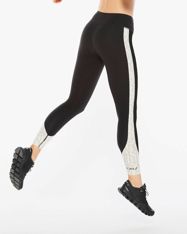 Fitness Mid-Rise Line Up Tights