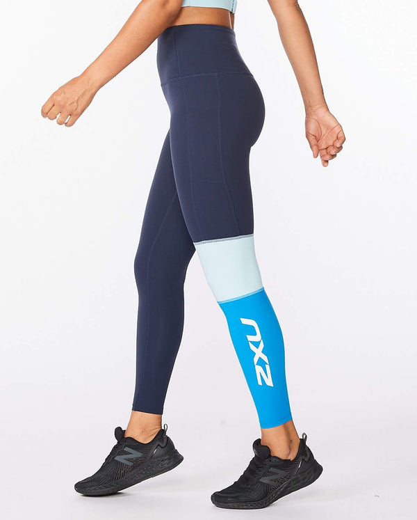 Form Block Hi-Rise Compression Tights