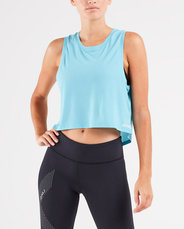 XVENT G2 Cropped Mesh Tank