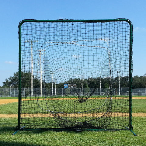 JFN Square Sock Frame and Net Pitch Screen 7x7